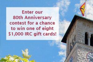 80th Anniversary Contest