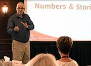 Jim Harrison teaching at the HR Metrics and Analytics program in Ottawa