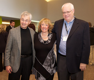 Former IRC Directors, Don Carter and Carol Beatty, with current IRC Director, Paul Juniper.