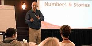 Jim Harrison teaching at the HR Metrics and Analytics program