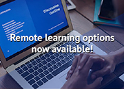 Remote Learning Options Now Available